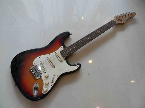 Tender strat sunburst
